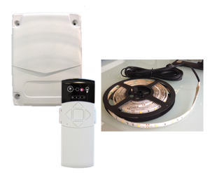 Commande à télécommande centralisée des LEDs