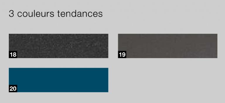 nuancier HORMANN - couleurs tendance portes sectionnelles