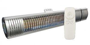INTI HEAT - Chauffage infra-rouge 2000W (IP65) + télécommande