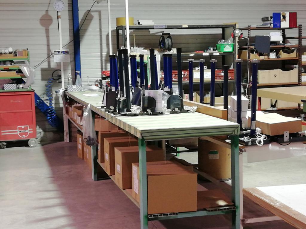 intérieur usine David Fermetures